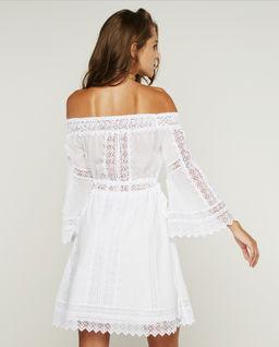 Sukienka z odkrytymi ramionami Ankaa