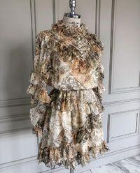 Sukienka z falbanami Arabella