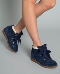 Sneakersy Betty na ukrytym koturnie 5 cm