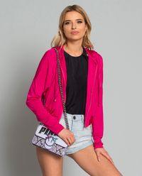 Bluza z połyskiem i aplikacją z tyłu