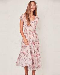 Sukienka z jedwabiu Audra