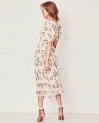 Sukienka Roxanne z jedwabiu