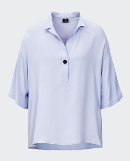 Koszula z krótkim rękawem z jedwabiem