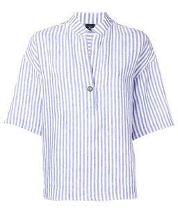 Bluzka lniana w paski