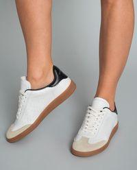 Sneakersy ze skóry Bryce