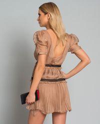 Sukienka z plisami