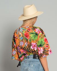 Bluza w kwiaty