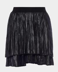 Spódnica plisowana mini