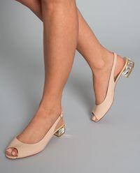 Sandały skórzane w kamieniami Swarovskiego