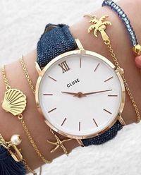 Zegarek Minuit Denim