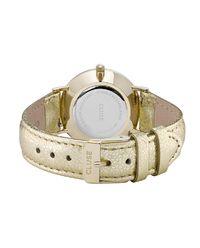 Zegarek Minuit Gold Metallic