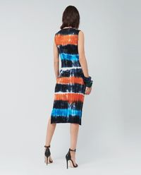 Sukienka midi Tie-Dye