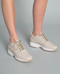 Sneakersy ze skóry Interactive
