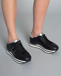 Sneakersy ze skóry H222