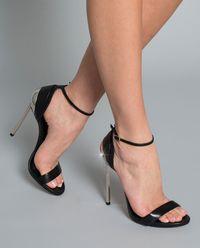 Sandały na szpilce Techno Blade
