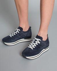 Sneakersy z zamszu H222
