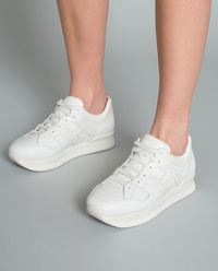 Sneakersy H222 białe
