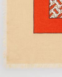 Szalik kaszmirowy z monogramem