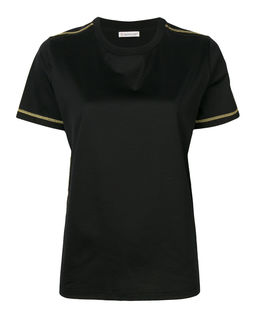 T-shirt z logo czarny