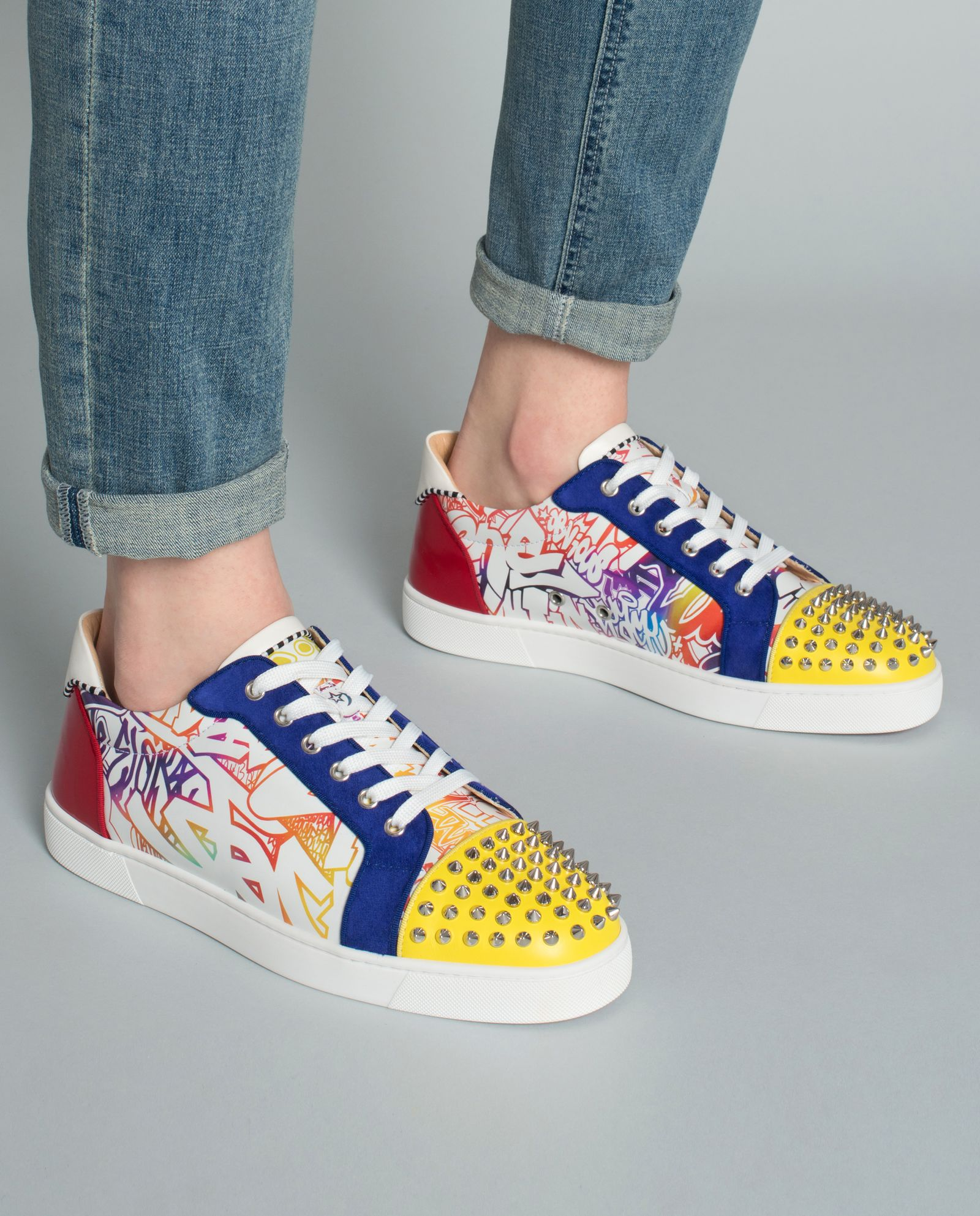 Sneakersy seavaste spikes CHRISTIAN
