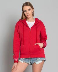 Bluza z logo czerwona