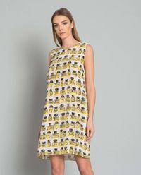 Sukienka jedwabna z printem