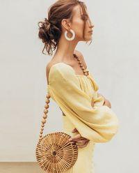 Żółty top Clara