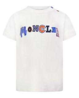 T-shirt z logo 0-3 lata
