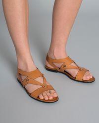 Sandały ze skóry