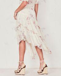 Hedvábná sukně Rowan