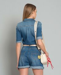 Kombinezon jeansowy