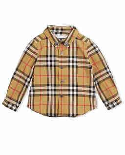 Koszula w kratę 0-3 lata