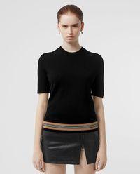 Sweter z krótkim rękawem