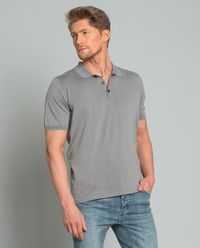 Koszulka polo szara