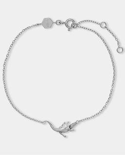 Bransoletka srebrna Alligator Chain Silver