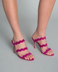 Sandały Agavria z zamszu