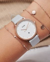 Zegarek Le Couronnement Grey Rose Gold