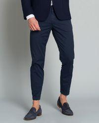 Spodnie Capri niebieskie