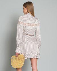 Sukienka mini w paski