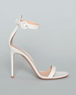 Sandály na jehle Portofino bílé