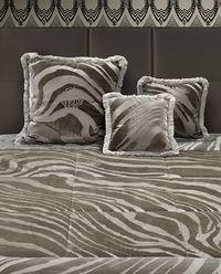 Poduszka Monogram Zebra Cammello