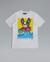 T-shirt z aplikacją 4-12 lat