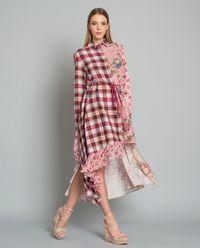 Sukienka z lnem Rita