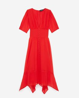 Sukienka z jedwabiu