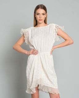 Sukienka z jedwabiem Marisa