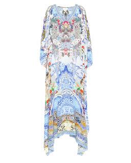 Sukienka maxi z kryształami Swarovskiego