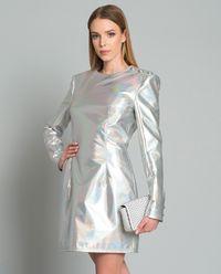 Sukienka mini holograficzna