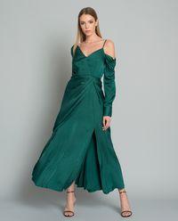 Sukienka z odkrytym ramieniem