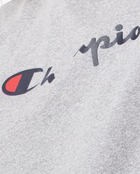Szary t-shirt z logo