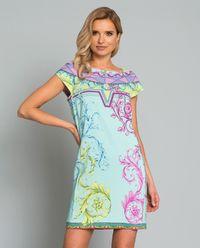 Sukienka z pastelowym printem